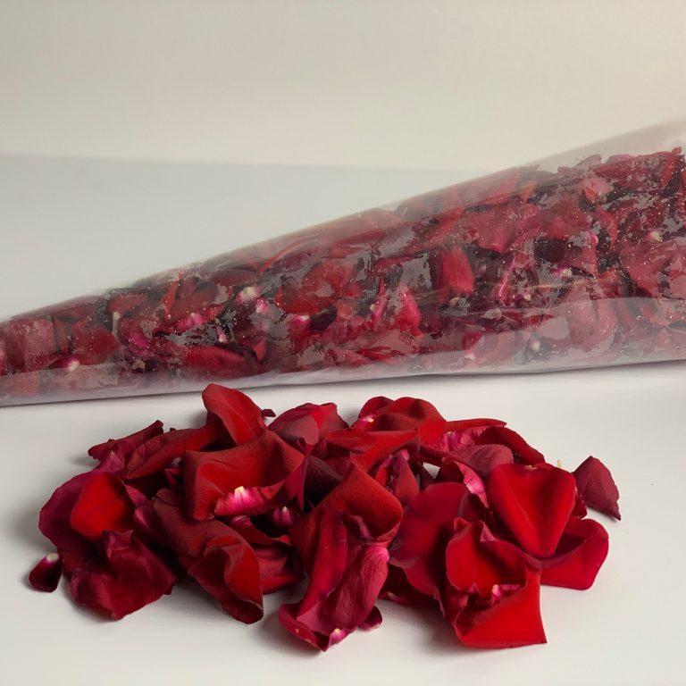 Brisbane rose petals